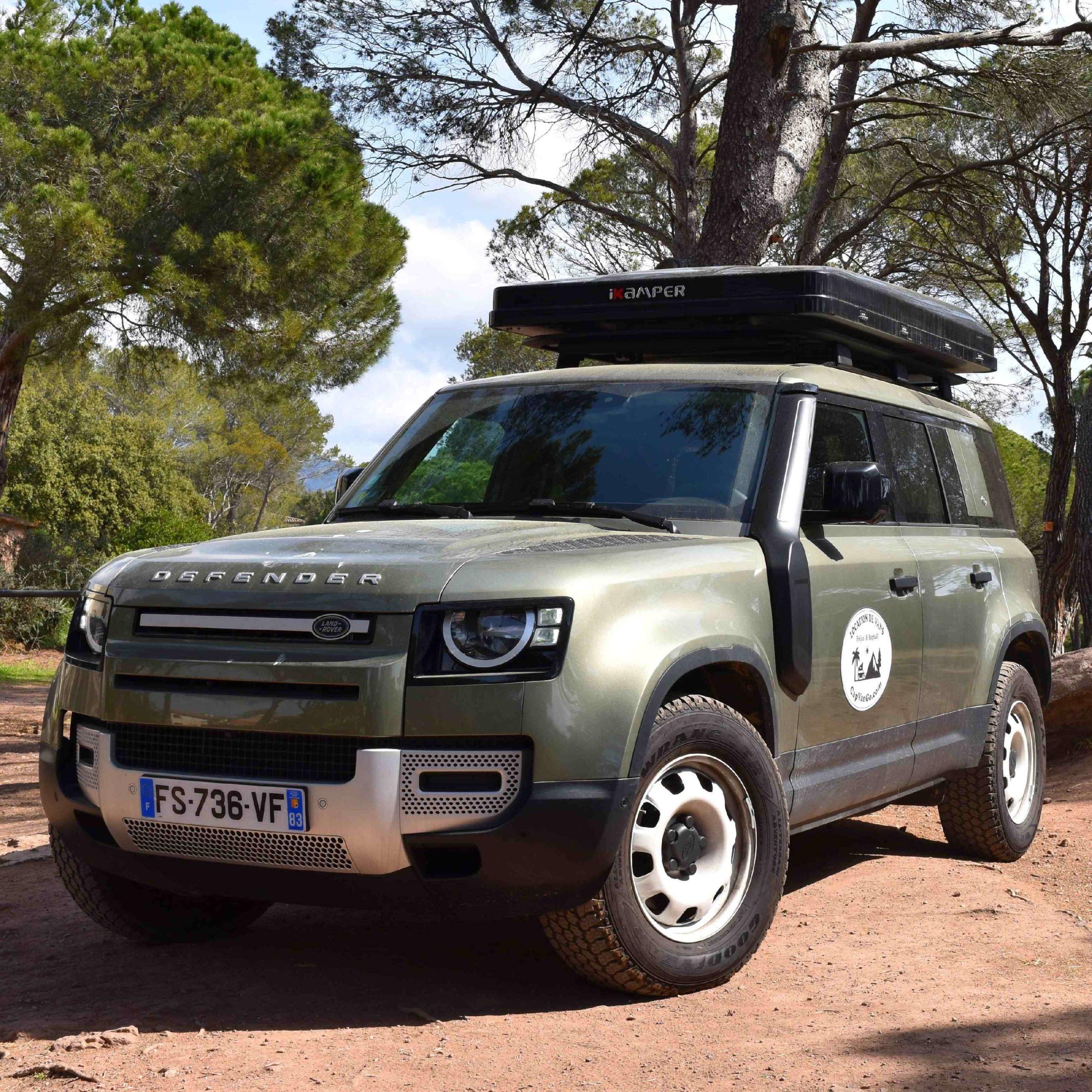 Van Land Rover Defender